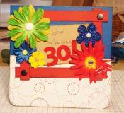 30th invitation card
