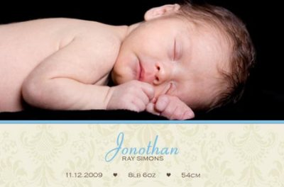 New Baby Photo Announcements
