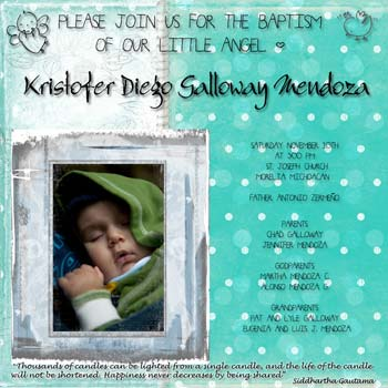 Baptism invitation ideas make your own invitaitons baptism photo invitation stopboris Gallery