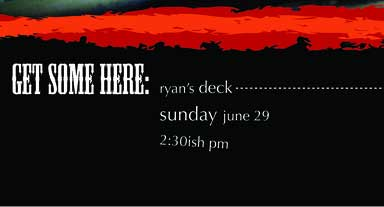 bbq invitation details