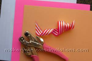 making candyland invitations