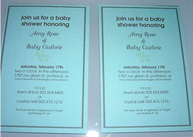 Clipart Invitations