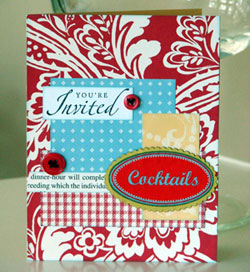 Cocktail Party Invitations on Cocktail Party Invitations   Make Your Own Diy Invitations