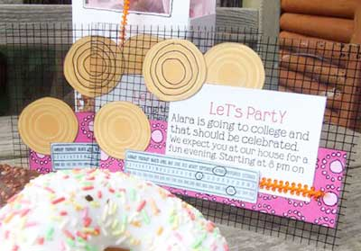 You can simply follow these directions to make a clear invitation from ...
