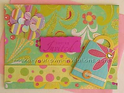 party in the garden invites