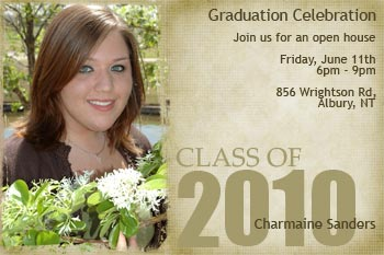 Make a college Graduation Invitation High school ideas too