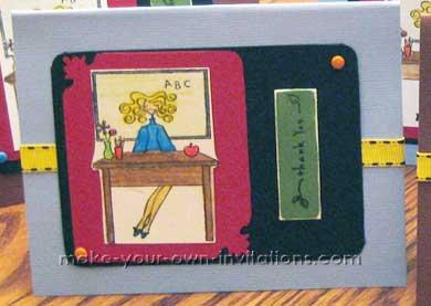 teacher thank you cards