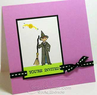 harry potter invitations