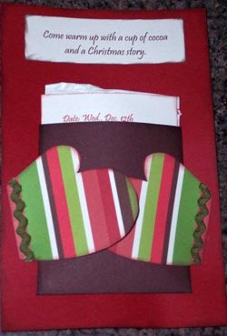 Hot Chocolate Invitations