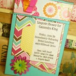 lingerie party invitations