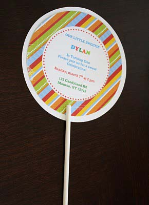 stick and invitations