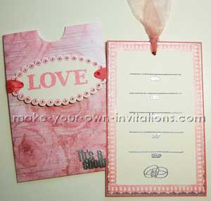 Make Bridal Shower Invitation Make your own Invitations
