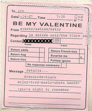 make party invitations for your valentines soiree