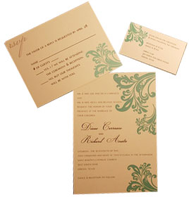 pocket wedding invitation design
