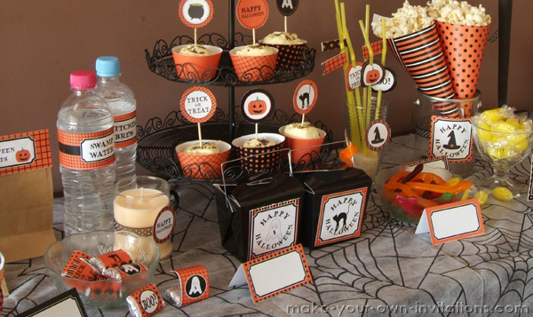 Printable Halloween Decorations 2011 Halloween Printables