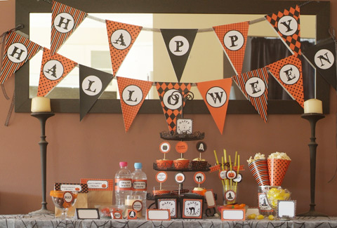 halloween 1st birthday party