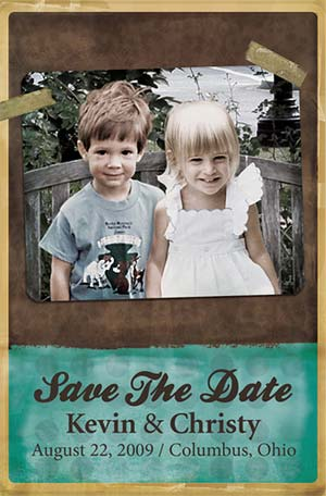 Photoshop Save The Date Announcements