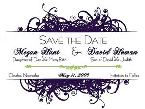 save the date photo booth - front of card