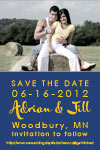 semi formal save the date card designs