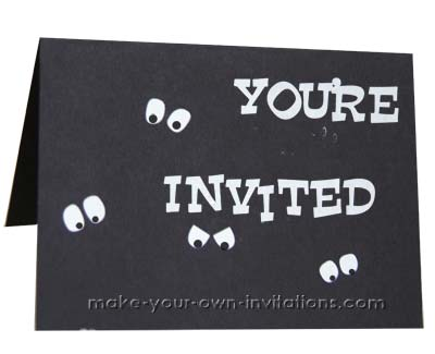 Halloween Party Invitation two.