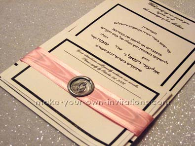 Wedding Invitation Examples of Wax Seals