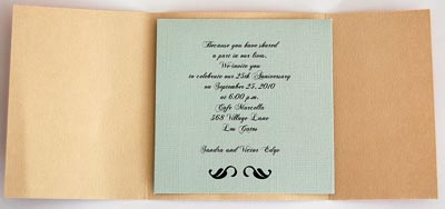 Invitations for 50th Wedding Anniversary