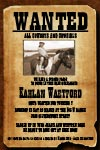 cowboy wanted poster invitations