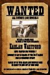 cowboy wanted poster invitations