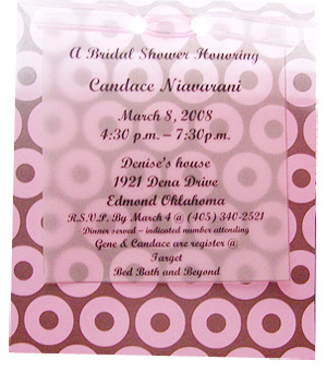 Bridal shower ideas for your invitations.