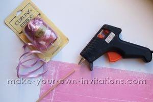 fairy princess invitation supplies