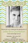 modern graduation invitation