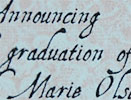 highschool graduation invitation