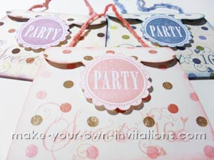 How to make Sweet 16 Invitations