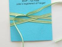create invitations with ribbon 3
