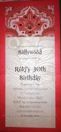 Make 30th Birthday Invitations
