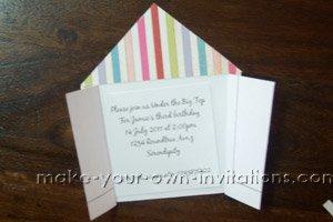 circus invitation wording