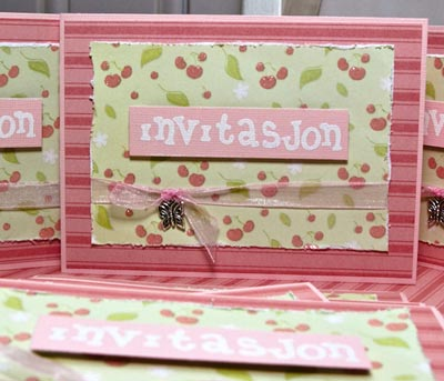make your Name Day Invitations