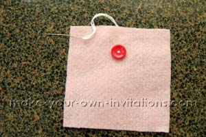 sew on a button or two to the pocket