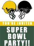 Super Bowl Invitations