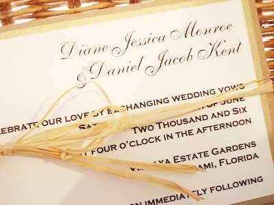 pineapple wedding invitation